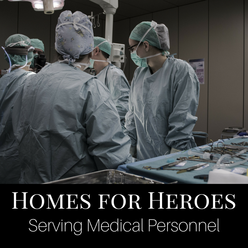 Homes for Heroes Medical Professionals