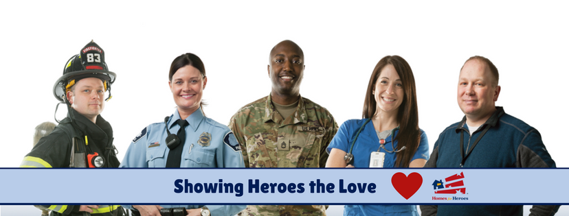 Learn more about Homes for Heroes in Southern Oregonfirefighters, law enforcement, military (active, reserves and veterans), medical workers, teachers
